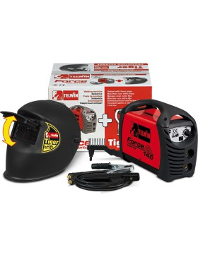 Poste de Soudage Inverter 145 + Casque de protection Tiger DIN 10